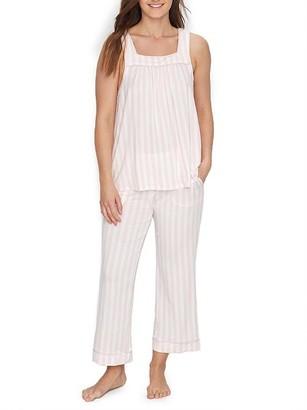 Kate Spade Pastry Cropped Modal Pajama Set