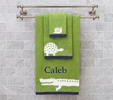 Pottery Barn Kids Alligator Hand Towel