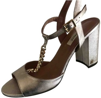Bally Silver Leather Sandals