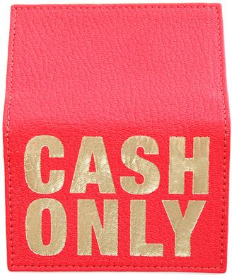 Blue & Cream Blue&Cream 'Cash Only' Card Case