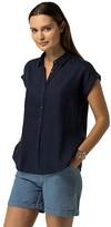 Tommy Hilfiger Linen Cap-Sleeve Shirt