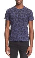 Just Cavalli Men's Leopard Print T-Shirt