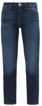 Frame Le High High-rise Straight-leg Jeans - Denim