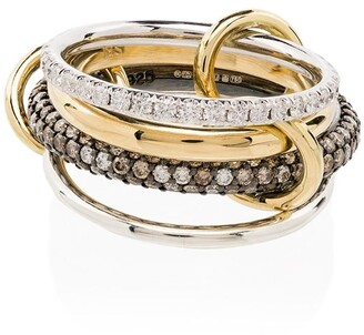 Spinelli Kilcollin Vega 18K yellow gold diamond ring