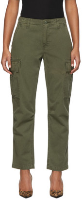 RE/DONE Khaki Twill Cargo Pants