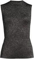 BOSS Friedy Lurex Virgin Wool-Blend Sleeveless Top