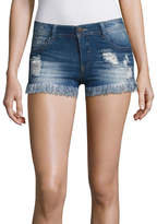 Almost Famous 2 1/2 Denim Shorts-Juniors