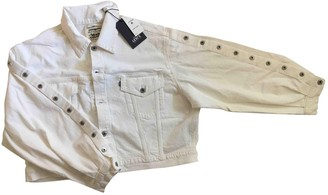 Levi's Made & Crafted White Cotton Jacket for Women