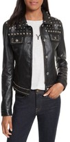 Rebecca Minkoff Women's Annatto Leather Jacket