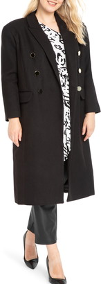 ELOQUII Double Breasted Coat