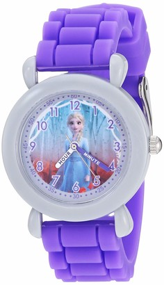 Disney Girls' Frozen 2 Analog Quartz Watch with Silicone Strap