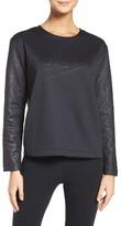 Nike Women's Sportswear Montage Logo Sweatshirt