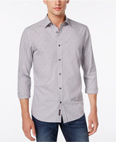 Michael Kors Men's Tucker Check and Dot Shirt