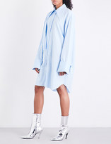 Marques Almeida Double-front cotton-twill shirt dress