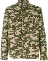 Dnl camouflage fitted shirt