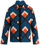 Craig Green Diamond-appliqué Holiday cotton jacket