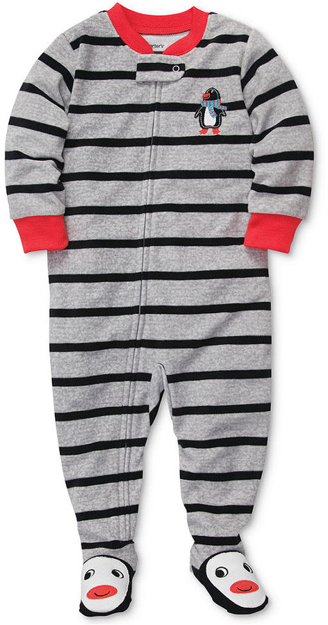 Carter's Baby Pajamas, Baby Boys One-Piece Striped Coverall