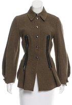Sportmax Wool-Blend Short Coat w/ Tags