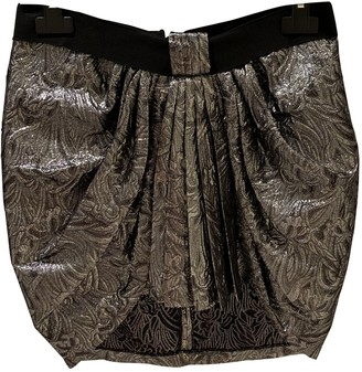 Isabel Marant Silver Wool Skirts