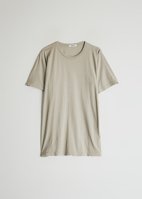 Need Women's Short Sleeve Dye T-Shirt in Taupe, Size Medium | 100% Cotton