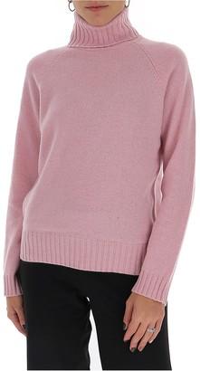 Tory Burch Raglan Turtleneck Sweater