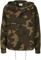 Monkey Time Hooded Camouflage Jacket