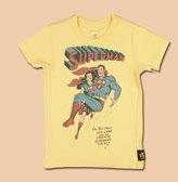 Trunk Superman and Lois Lane Tee for Girls