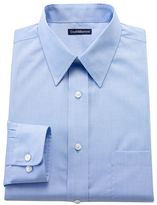 Croft & Barrow Men's Fitted Solid Easy-Care Point-Collar Dress Shirt