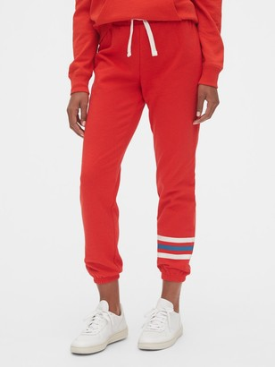Gap Vintage Soft Stripe Joggers