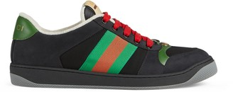 Gucci Men's Screener suede sneaker