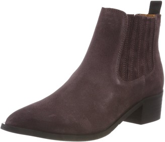 Selected Women's Slfelena New Suede Chelsea Boot B