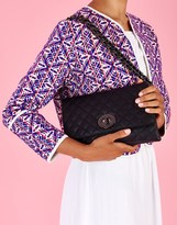 Marc B Cross Body Quilted Clutch Bag