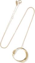 Adina 14-karat gold necklace