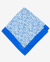 Ted Baker Leopard Print Pocket Square Blue