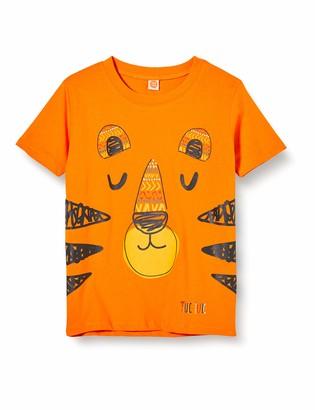 Tuc Tuc Orange Tiger Jersey T-Shirt for BOY Wild Side