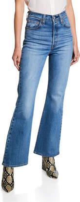 Levi's Premium Ribcage High-Rise Flare Jeans