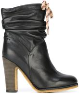 See by Chloe gathered ankle boots