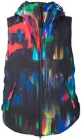 Y-3 abstract print shell gilet - men - Polyester - L