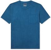 Thumbnail for your product : Blue Blue Japan Indigo-Dyed Slub Cotton-Jersey T-Shirt