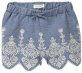 Jessica Simpson Embroidered Denim Skirt (Little Girls)