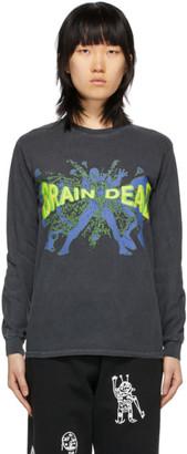 Brain Dead Black Blammin Long Sleeve T-Shirt