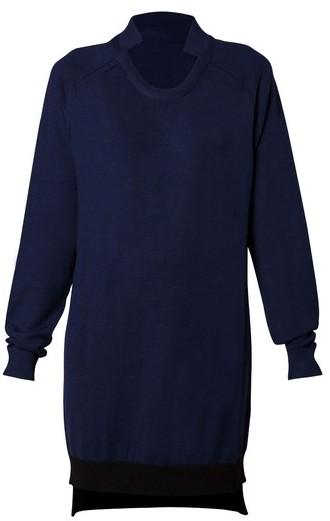 Gaspard Yurkievich Blue and Black Knit Dress