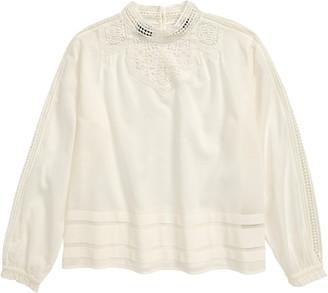 Scotch R'Belle Crochet Lace Top