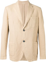 Massimo Alba classic blazer - men - Cotton/Linen/Flax - 52
