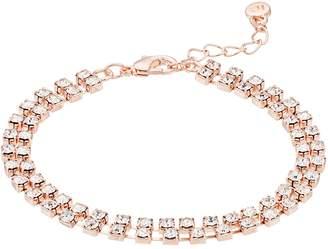 Lauren Conrad Simulated Crystal Multirow Bracelet