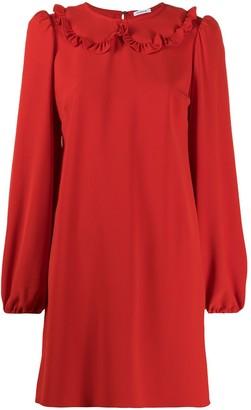 P.A.R.O.S.H. Ruffle Trim Shirt Dress