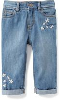 Old Navy Boyfriend Capri Jeans for Toddler Girls