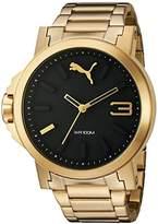 Puma Women's PU103462002 Analog Display Quartz Gold Watch