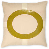 The Piper Collection Cameron 22x22 Linen Pillow, Green