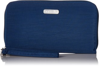 Baggallini Continental Wallet with RFID Protection with Lightweight Nylon